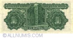 Image #2 of 1 Quetzal 1938 (26. VIII.)