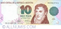 Image #1 of 10 Pesos ND (1992)