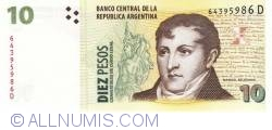 Image #1 of 10 Pesos ND (1998-2003)