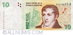 Image #1 of 10 Pesos ND (1998-2003) - Signature variation