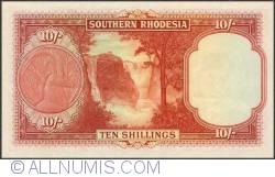 Imaginea #2 a 10 Shillings 1953 (3. I.)