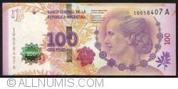 Imaginea #1 a 100 Pesos ND(2012)