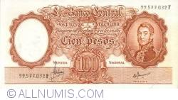 Imaginea #1 a 100 Pesos ND (1967-69)