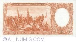 Imaginea #2 a 100 Pesos ND (1967-69)