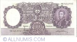 Image #1 of 1 000 Pesos ND (1966-69)