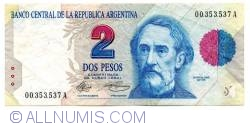 Image #1 of 2 Pesos ND (1992-1997)