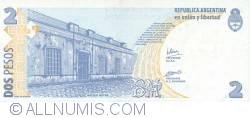 Imaginea #2 a 2 Pesos ND (2002)  - Semnătură Hernán Martín Pérez Redrado/ Eduardo Oscar Camaño