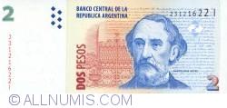 Imaginea #1 a 2 Pesos ND (2002)  - Semnături Hernán Martín Pérez Redrado/  Eduardo Fellner