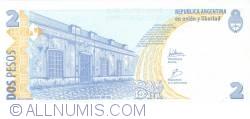 Image #2 of 2 Pesos ND (2002) - Signatures Hernán Martín Pérez Redrado/  Eduardo Fellner