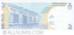 Imaginea #2 a 2 Pesos ND (2002) - semnături Alfonso Prat-Gay/ Eduardo Oscar Camaño