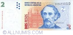 Image #1 of 2 Pesos ND (1997-2000) - signatures Roque Maccarone / Rafael Manuel Pascual