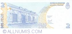 Image #2 of 2 Pesos ND (1997-2000) - signatures Roque Maccarone / Rafael Manuel Pascual
