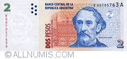 Image #1 of 2 Pesos ND (1997-2000) - R - replacement note