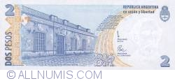 Image #2 of 2 Pesos ND (1997-2000) - R - replacement note