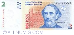 Image #1 of 2 Pesos ND (1997-2000)