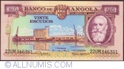 Imaginea #1 a 20 Escudos 1956 (15. VIII.)