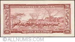 Imaginea #2 a 20 Escudos 1956 (15. VIII.)