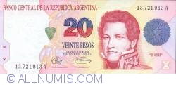 Image #1 of 20 Pesos ND (1992)