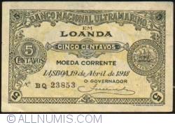 Image #1 of 5 Centavos 1918 (19. IV.)