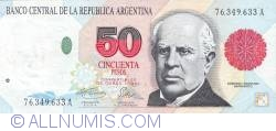 Image #1 of 50 Pesos ND (1992-1997)