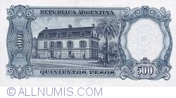 Image #2 of 500 Pesos ND (1964-69)