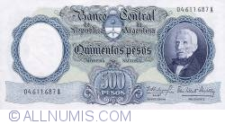 Image #1 of 500 Pesos ND (1964-69)