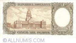 Image #2 of 5 000 Pesos ND (1962-69)
