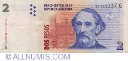 Image #1 of 2 Pesos ND (2002) - Signatures Hernán Martín Pérez Redrado/  Alberto Edgardo Balestrini