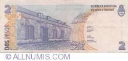 Imaginea #2 a 2 Pesos ND (2002)  - Semnături Hernán Martín Pérez Redrado/  Alberto Edgardo Balestrini