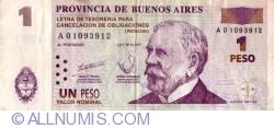 Imaginea #1 a 1 Peso 2001 - Patacon