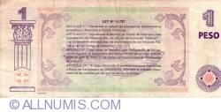 Image #2 of 1 Peso 2001 - Patacon