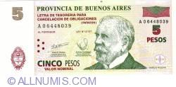 Image #1 of 5 Pesos 2001 - Patacon