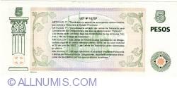 Imaginea #2 a 5 Pesos 2001 - Patacon