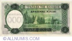 Image #2 of 1000 Drachmai 1939 (1. I.)
