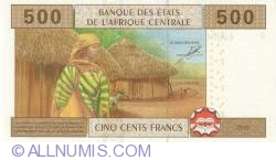 Image #2 of 500 francs 2002 (2007-2009) F, sign Philibert Andzembe
