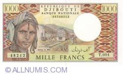 Imaginea #1 a 1000 Francs 1991