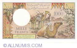Imaginea #2 a 1000 Francs 1991