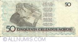 Image #2 of 50 Cruzados Novos ND (1989)