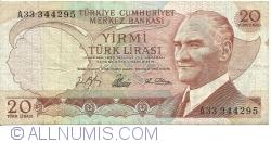 20 Lira L. 1930 (4. VII. 1966)