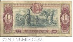Imaginea #2 a 10 Pesos Oro 1976 (20. VII.)