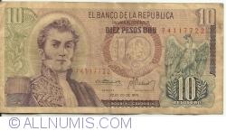 Imaginea #1 a 10 Pesos Oro 1976 (20. VII.)