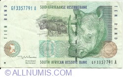 Imaginea #1 a 10 Rand ND (1999)