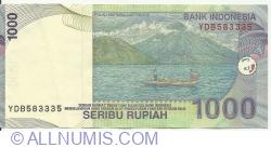 Image #2 of 1000 Rupiah 2000/2005