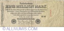1 Milion (1 000 000) Mark 1923 (25. VII.) - 2