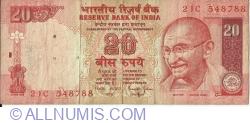Image #1 of 20 Rupees ND (2002) A - signature Bimal Jalan (88)