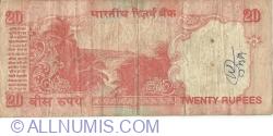 Image #2 of 20 Rupees ND (2002) A - signature Bimal Jalan (88)