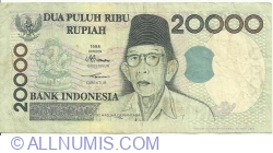 Imaginea #1 a 20 000 Rupiah 1998/2001