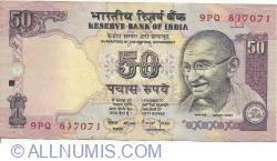 Imaginea #1 a 50 Rupees ND (1997) E - semnătură Bimal Jalan (88)