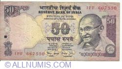 Imaginea #1 a 50 Rupees ND (1997) A - semnătură Bimal Jalan (88)