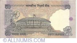Imaginea #2 a 50 Rupees ND (1997) - semnătură Bimal Jalan (88)